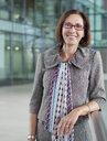 Portrait smiling, confident businesswoman - HOXF04293