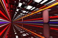 Architecture visualization of a futuristic passageway, 3D Rendering - SPCF00315