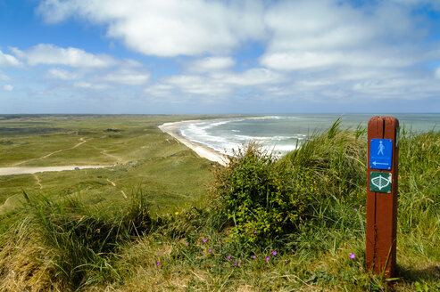 Denmark, Jutland, Bulbjerg, dune landscape - UMF00874