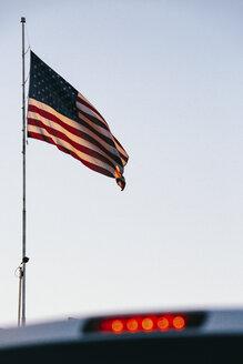 USA, Las Vegas, American Flag - JUBF00302
