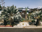 USA, Los Angeles, Venice Residential Area - JUBF00305