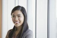 Close up portrait of confident businesswoman - HEROF04182