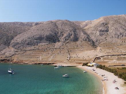 Croatia, Krk island, Vela Luka, beach - WWF04824