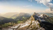 French Alps, Parc naturel régional du Massif des Bauges, Chatelard-en-Bauges, Rhone-Alpes, France - CUF46892