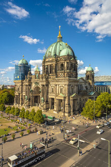 Germany, Berlin, Museumsinsel with Berlin Cathedral - TAM01110