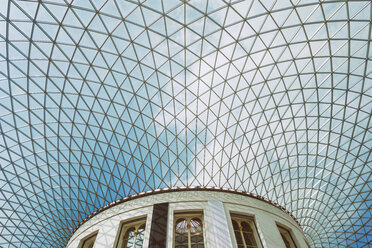 United Kingdom, England, London, British museum, domed ceiling - TAM01116