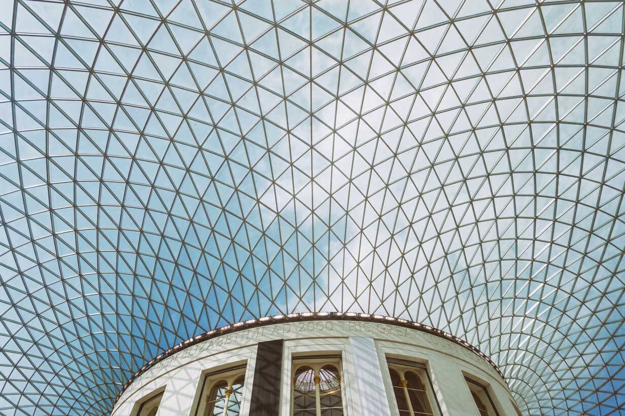 United Kingdom, England, London, British museum, domed ceiling - TAM01116 - A. Tamboly/Westend61