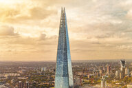 United Kingdom, England, London, The Shard in the evening light - TAM01119