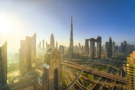 United Arab Emirates, Dubai, Burj Khalifa at sunrise - SMAF01163
