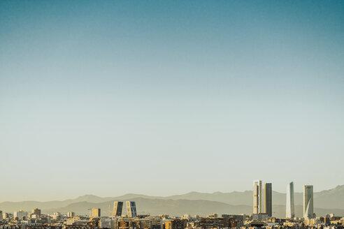 Cityscape skyline view of Madrid - JCMF00035
