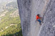 Rock climbing, Squamish, Canada - CUF46936