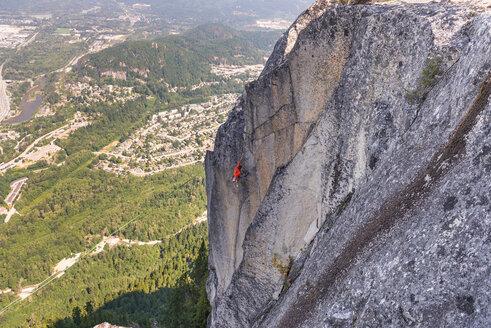 Rock climbing, Squamish, Canada - CUF46939