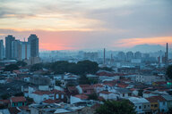Cityscape at sunset, Chiang Mai, Thailand - CUF47068