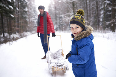 Family spending free time on fresh air, Debica, podkarpackie, Poland - ABIF01127