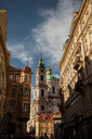 St. Nicholas Church and Sternberg Palace, Prague, Czech Republic - CUF47788
