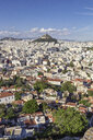 Greece, Athens, view on the city and Mount Lycabettus - MAMF00345