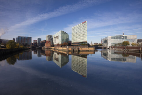 Deutschland, Hamburg, HafenCity, Ericusspitze, Ericusgraben, Spiegel-Verlagsgebäude, Ericus-Contor - WI03728