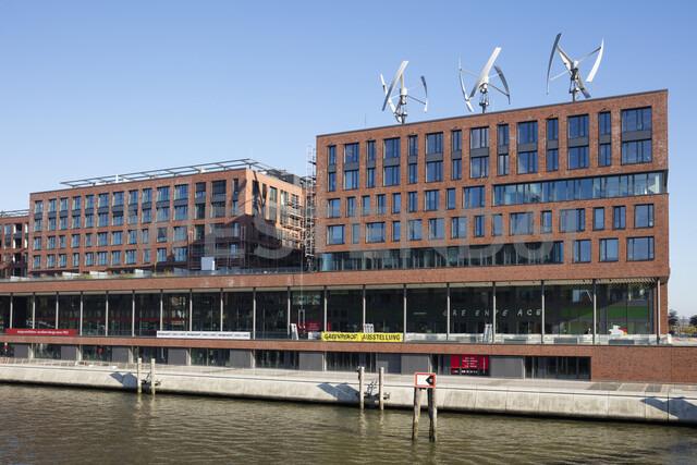 Germany, Hamburg, Elbarkaden, Greenpeace headquarters - WI03734