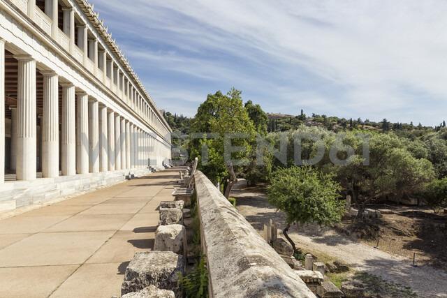 Greece, Athens, Ancient Agora, Stoa of Attalos - MAMF00359