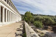 Stoa des Attalos, antike Agora, Athen, Griechenland - MAMF00359