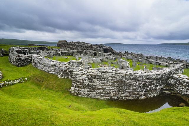 Iron age build Broch of Gurness, Orkney Islands, United Kingdom - RUNF00999