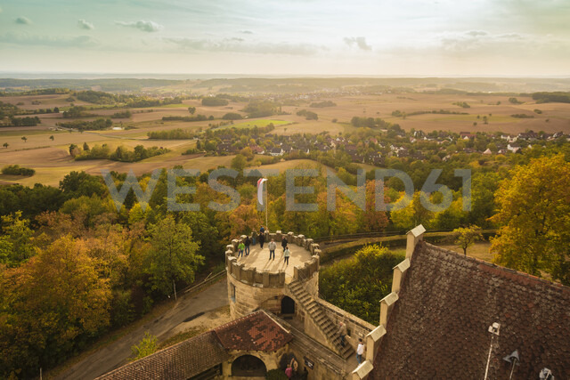 Germany, Bavaria, Bamberg, view from the Altenburg - TAM01129 - A. Tamboly/Westend61