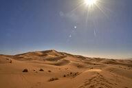 Man in Morocco desert - EPF00547