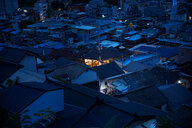 Township at night, Seoul, South Korea - CUF48021