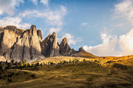 View on Sella Towers or Sella Türme, Dolomites - CUF48293
