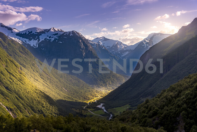River and mountains in Stryn, Norway - FOLF10313