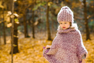 Little girl in forest - ISF20392