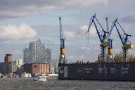 Germany, Hamburg, HafenCity, Dock 10 and Elbe Philharmonic Hall - WI03769