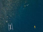 Man snorkeling in ocean - KNTF02618