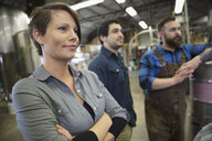 Brewery workers looking away - HEROF06871