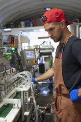 Man working in beer distillery - HEROF07195