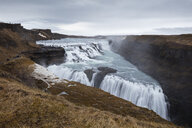 Iceland, Golden Circle, Gullfoss Waterfall - WIF03788