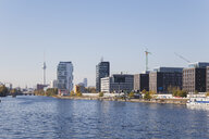 Germany, Berlin, view to development area at Friedrichshain - GWF05816