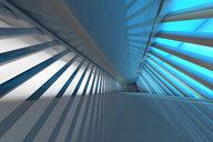 Futuristic empty room, 3D Rendering - SPCF00342