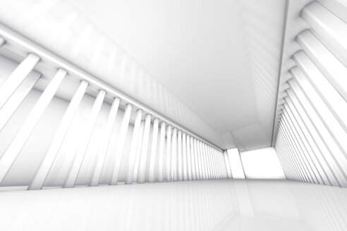 Empty white room, 3D Rendering - SPCF00345