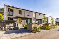 Germany, Fellbach, energy saving house development area - WDF05051