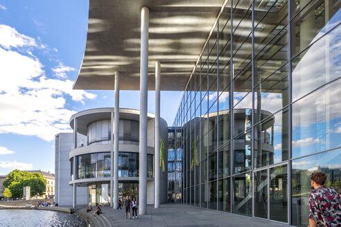 Germany, Berlin, view to Paul-Loebe-Building at River Spree - PU01365