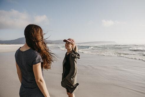 Strandspaziergang, Noordhoek Beach, Western Cape, Südafrika - LHPF00406