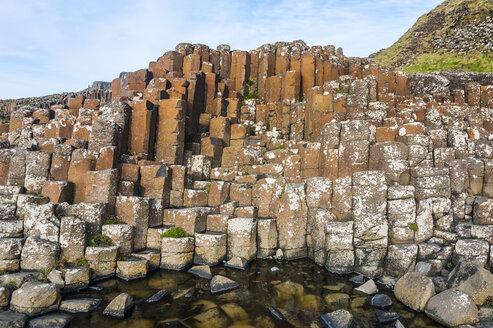 UK, Northern Ireland, Giant's Causeway - RUNF01036