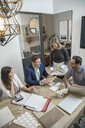 Home builder architects and designers planning in office meeting - HEROF11648