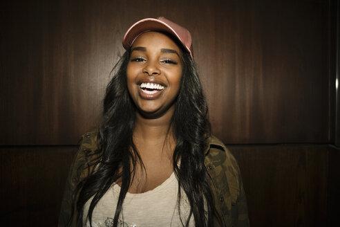 Portrait confident, enthusiastic female millennial - HEROF14544