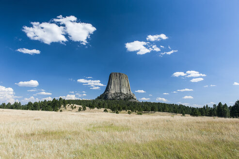USA, Wyoming, Devils Tower National Monument - RUNF01049