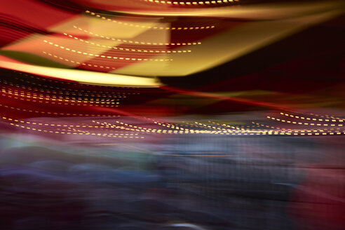 Colorful lights in movement, long exposure - IGGF00744