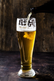 Glass of wheat beer - SBDF03898