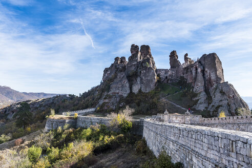 Kaleto Rock Fortress, rock formations, Belogradchik, Bulgaria - RUNF01081