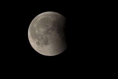 Germany, Brandenburg, Landkreis Havelland, total lunar eclipse of July 27, 2018 - THGF00069
